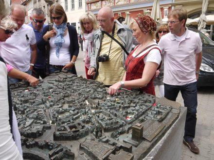 Erfurt, Stadtmodell Fischmarkt
