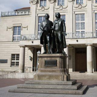 Goethe- und Schiller-Denkmal